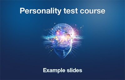 Personality Course introduction